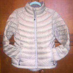 850 M/L Silver-Grey Down puffer jacket ll L.L.bean